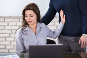 woman being sexually harassed - sexual harassment lawyer Florida - dolman law group